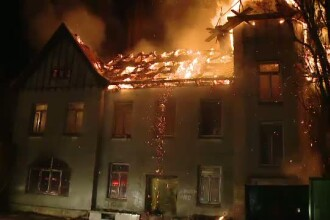 Tragedie la Timisoara. Un om al strazii a pierit intr-un incendiu in cladirea in care se adapostea
