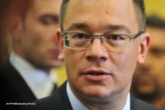 Ungureanu: Caderea Guvernului prin motiune de cenzura ar conduce la semianarhie institutionala
