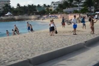 VIDEO. Coltul de Paradis unde ti-e teama sa faci plaja. Aeroportul iti da cosmaruri in Caraibe