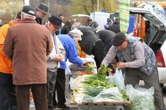 Piata volanta din Alba Iulia se inchide pe perioada iernii