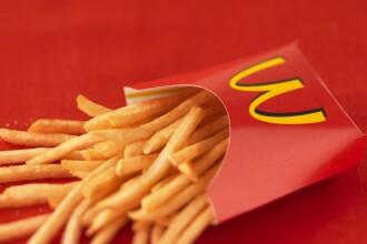 ANPC cere CNA sa retraga un spot al McDonalds de pe TV. Din ce sunt facuti cartofii prajiti