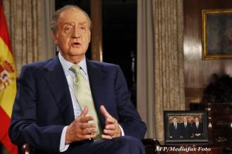 VIDEO. Regele Juan Carlos al Spaniei a cazut pe trepte, chiar in fata camerelor TV