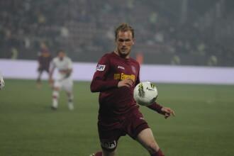 A fost dat afara de Steaua, dar scrie istorie la CFR. Kapetanos, la 2 goluri de recordul lui Trica