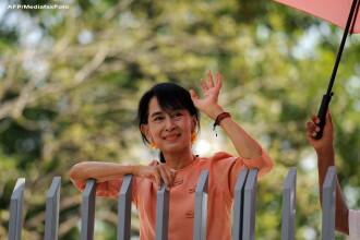 Prima vizita in strainatate dupa 24 de ani: Aung San Suu Kyi, simbol al democratiei si al pacii