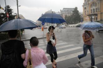 Administratia Nationala de Meteorologie a mai emis o informare. Va PLOUA tot weekendul
