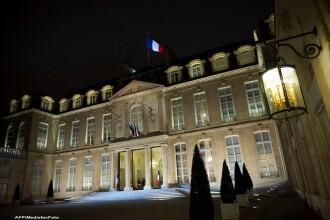 O drona a survolat Palatul Elysee in noaptea de joi spre vineri, anunta presedintia franceza