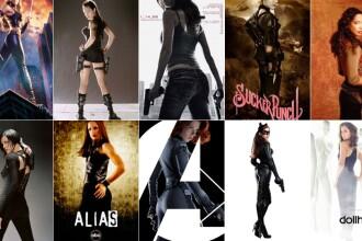 Posterele filmelor de la Hollywood arata femeile