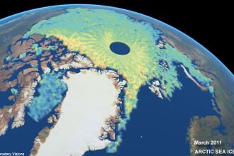 Cele mai detaliate imagini ale grosimii calotei glaciare. VIDEO