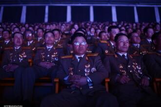 Coreea de Nord isi arata muschii: