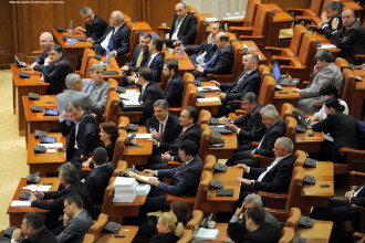 Ponta in Parlament: