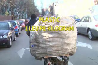 In Romania se fura pana si gunoiul. Deseurile colectate selectiv, mina de aur pentru oamenii strazii