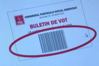 Sistem electronic de vot la Congresul PSD.