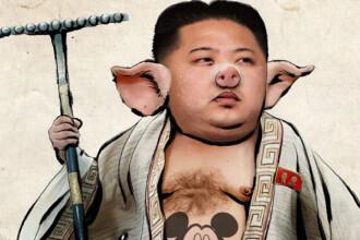 Imaginea postata de hackerii de la Anonymous, dupa ce au spart site-ul de propaganda nord-coreean