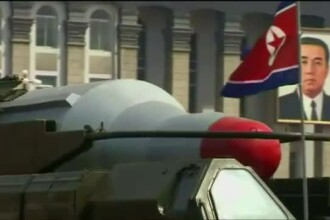 Avertismentul Pentagonului: Coreea de Nord este capabila sa atace Statele Unite cu o arma nucleara