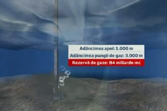 Rezervele din Marea Neagra pot acoperi jumatate din consumul anual de gaze al Romaniei