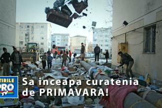 Sa inceapa curatenia de primavara! Ajuta-ne sa facem mizeria din Romania sa dispara