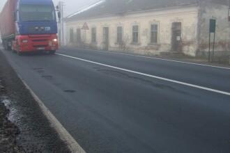 DN7, la trei ani de la reparatiile capitale: restrictii de viteza pe opt sectoare din cauza gropilor