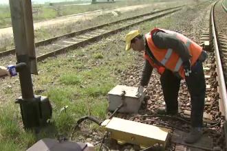 Imaginile furtului de 10 mil. euro de la CFR. Cum a ajuns calatoria cu trenul o aventura periculoasa