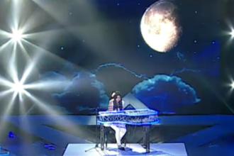 ROMANII AU TALENT. Diana Caldararu, o eleva de 14 ani, a vrajit cu un moment special la pian