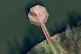 Posibila crima comisa in Olanda, surprinsa de satelitii Google Earth. Urme de sange in imagini