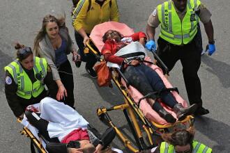 Veteran: Sunetul exploziilor din Boston, similar cu cel al dispozitivelor explozive improvizate