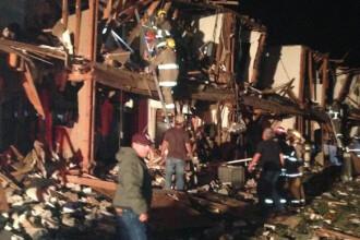 15 cladiri, demolate complet. Imagini cu dezastrul provocat de explozia din Texas