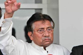 Premiera istorica in Pakistan. Fostul presedinte Pervez Musharraf a fost inculpat pentru