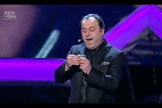 ROMANII AU TALENT, a treia semifinala. Sorin Ursan a fost aplaudat la scena deschisa de public