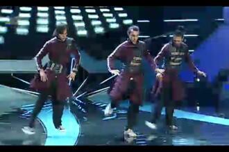 ROMANII AU TALENT, a treia semifinala. Dansatorii de la Simply That Crew au apelat la improvizatie