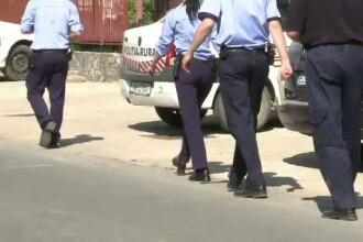 Scena ca-n bancuri cu 3 politisti si interlopul