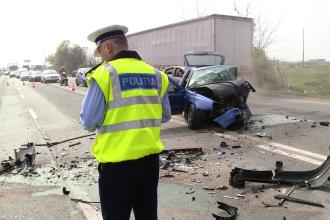3 persoane au fost ranite in urma unui accident rutier produs in aceasta dimineata, in municipiul Sibiu