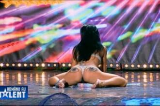 Kennya, dansatoarea exotica de la Romanii au talent care a impresionat juriul, a pozat goala. FOTO