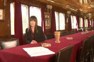 Trenul regal, muzeu pentru o saptamana. Romanii vor putea vizita dormitorul Regelui Carol al II-lea