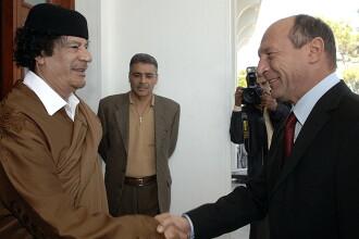 Basescu a povestit cum a incercat sa recupereze datoria Romaniei de la Libia. Raspunsul sfidator al dictatorului Ghaddafi