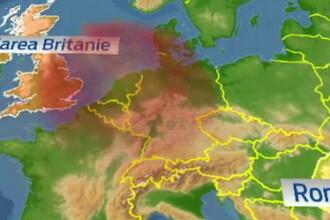 O uriasa furtuna de nisip, pornita in Sahara, va ajunge azi deasupra tarii noastre. Efectele pe care le vor resimti romanii