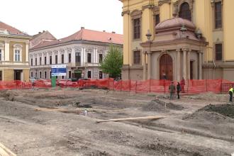 VIDEO.Descoperirea facuta de arheologi in centrul vechi al Timisoarei.
