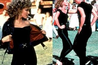 Olivia Newton John, din nou in pantaloni de piele, dupa 36 de ani de la scena din Grease care a schimbat moda
