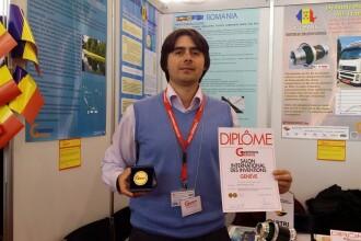 Romanul Corneliu Birtok-Baneasa a castigat medalia de aur si premiul special din Hong Kong la Salonul de Inventii Geneva