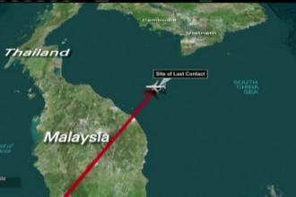 LOST, avionul disparut din Malaysia. Zborul MH370 era