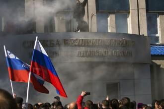 Criza in Ucraina. Kievul sustine ca a capturat doua blindate ale armatei ruse in luptele din Lugansk