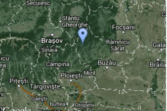 Un cutremur cu magnitudinea de 3,4 a avut loc in zona Vrancea