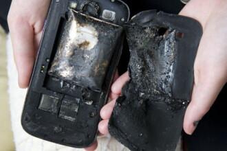 S-a trezit cu casa plina de fum, dupa ce smartphone-ul i-a luat foc.