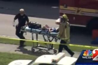 O masina a intrat intr-o gradinita din Florida. O fata a murit si 12 copii sunt raniti VIDEO