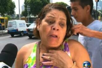 O femeie din Brazilia este jefuita LIVE, la televizor, in timp ce dadea un interviu despre nesiguranta din oras. VIDEO