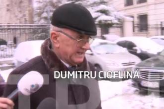 Dumitru Cioflina, condamnat la doi ani de inchisoare in dosarul schimbului de terenuri Becali-MApN, a fost eliberat