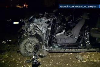 Urmarire cu final dramatic, in Brasov. Soferul unei masini furate, care fugea de politie, a ajuns sub rotile unui TIR