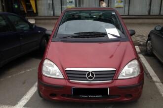 Mesajul cu care s-a trezit in parbriz un barbat din Cluj, dupa ce i-a furat locul de parcare unui alt sofer