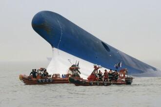14 cadavre scoase in ultimele 24 de ore din feribotul scufundat in Coreea de Sud. Bilantul accidentului a ajuns la 242 morti