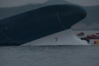 Bilantul naufragiului din Coreea de Sud a ajuns deja la 9 decese. Aproape 300 de persoane sunt date disparute