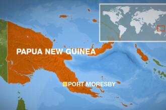 Cutremur de 7,5 in largul statului Papua Noua Guinee. Alerta de tsunami a fost anulata la scurt timp dupa emitere